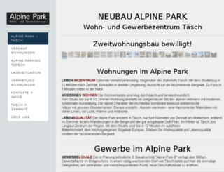 alpine-park.ch screenshot