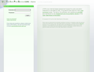 alpine.utips.org screenshot