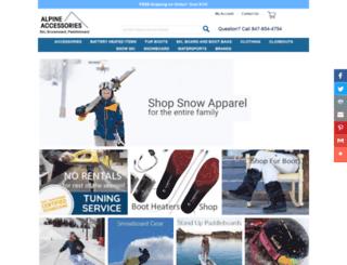 alpineaccessories.com screenshot