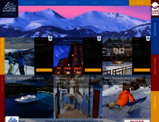 alpineadventures.net screenshot