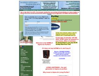 alpineairtechnologies.com screenshot
