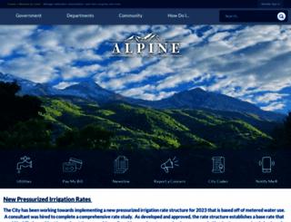 alpinecity.org screenshot