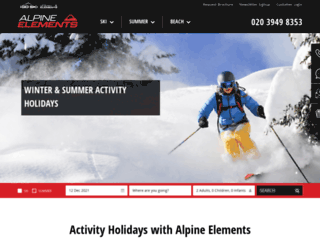 alpineelements.co.uk screenshot