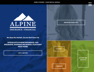 alpineinsurance.ca screenshot