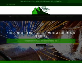 alpinemachine.com screenshot