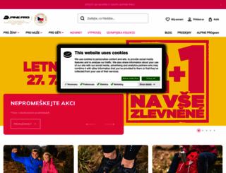 alpinepro.cz screenshot