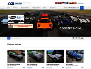 alpinerebuildablecars.com screenshot