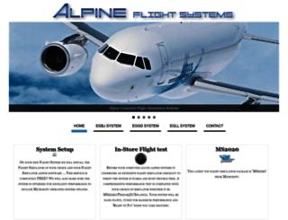 alpinesystems.co.uk screenshot