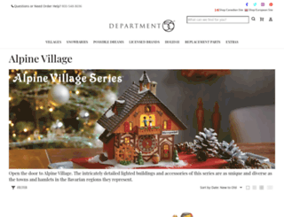 alpinevillage.com screenshot