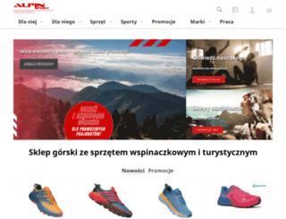 alpinsport.pl screenshot