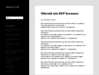 alptekin.info screenshot