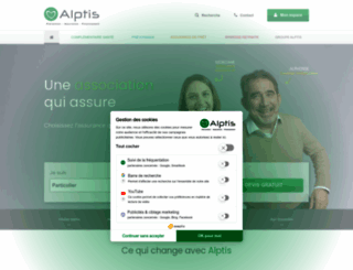 alptis.org screenshot