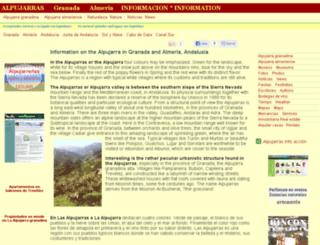 alpujarras-info.net screenshot
