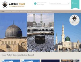 alqolamtravel.com screenshot