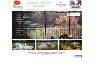 alqueriadehurdes.com screenshot