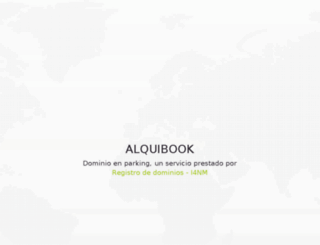 alquibook.com screenshot