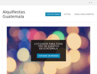 alquifiestas.com.gt screenshot