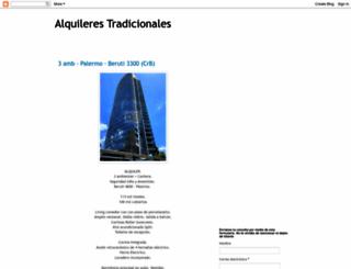 alquiler-departamentos.blogspot.com screenshot