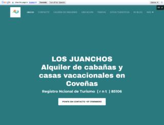 alquilerdecasasvacacionales.com screenshot