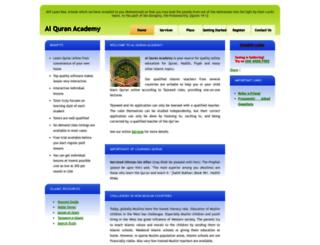 alquranacademy.com screenshot