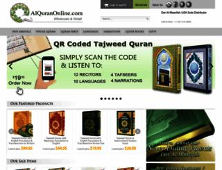 alquranonline.com screenshot