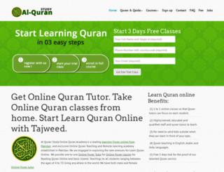 alquranstudy.com screenshot