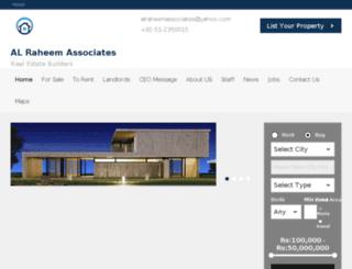 alraheemassociates.com screenshot