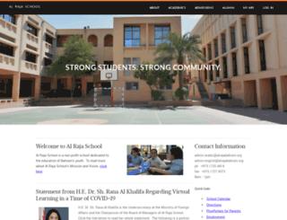 alrajabahrain.org screenshot