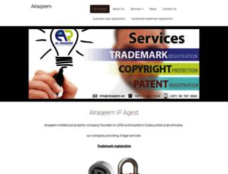 alraqeem.webnode.com screenshot