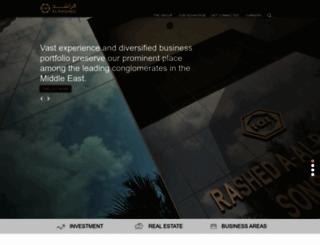 alrashed.com screenshot