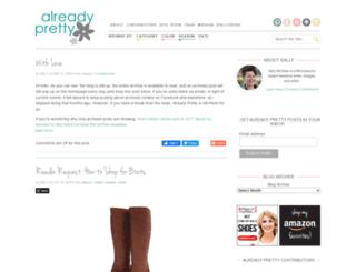 alreadypretty.com screenshot