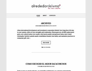 alrededordelvino.com screenshot