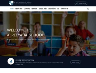 alreeyada-school.com screenshot