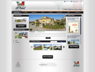 alrehabcity.com screenshot