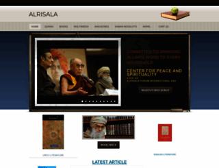 alrisala.org screenshot