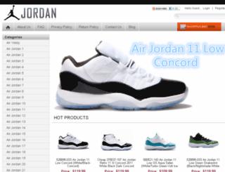alrjordansonsale.com screenshot
