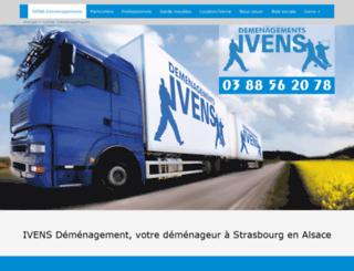 alsace-demenagements.com screenshot