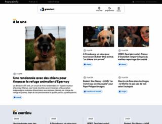 alsace.france3.fr screenshot