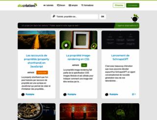 alsacreations.com screenshot