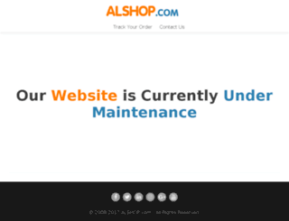 alshop.com screenshot