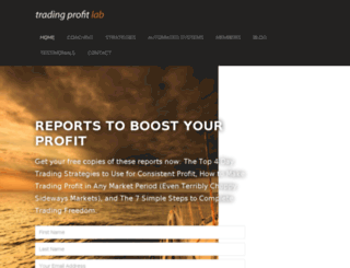 alsitradingstrategies.com screenshot