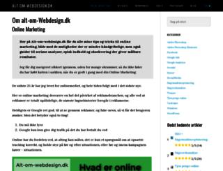 alt-om-webdesign.dk screenshot