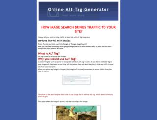 alt-tag-generator.blogspot.com screenshot