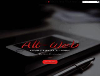 alt-web.com screenshot
