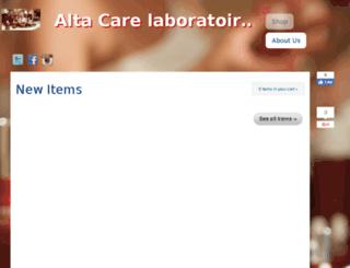 altacarelaboratoires.happy.ph screenshot
