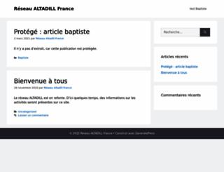 altadill.fr screenshot