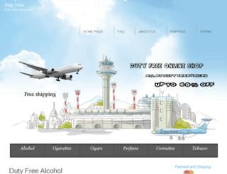 altadutyfree.net screenshot