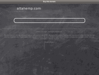 altahemp.com screenshot