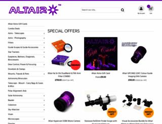 altairastro.com screenshot