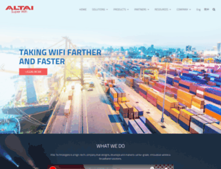 altaitechnologies.com screenshot